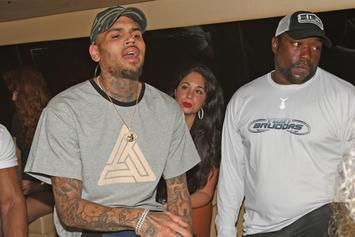 "Chris Brown Responds To Kanye West's ""Famous"" Video"