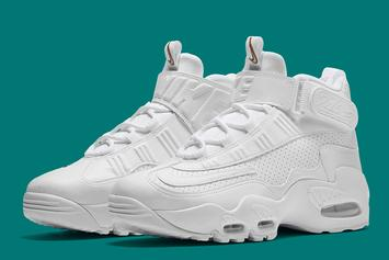 """Nike Is Releasing The """"InductKid"""" Air Griffey Max 1 In Honor Of Ken Griffey Jr's HOF Induction This Weekend"""