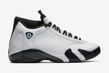 "Release Reminder: ""Oxidized Green"" Air Jordan XIV Returns Tomorrow"