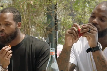 Watch Martellus And Michael Bennett Play NFL Word Association