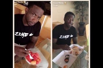 Gucci Mane's Girlfriend Denies Him A Burger; Mike WiLL Made-It Comes To The Rescue