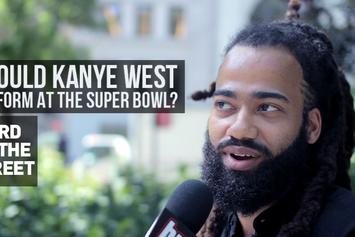 Word On The Street: Should Kanye West Perform At The Super Bowl?