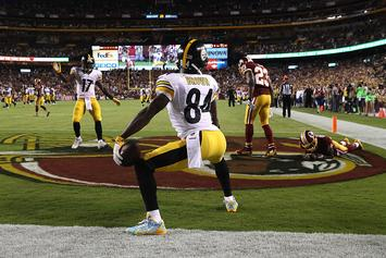 """Antonio Brown On Being Fined For Twerk TD Celebration: """"Nothing To A Boss"""""""