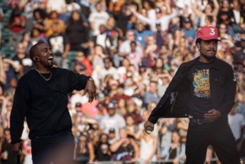 Watch Clips From Kanye West's Surprise Set At Magnificent Coloring Day