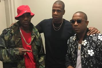 Jay Z, DMX & Ja Rule Reunite Backstage At Beyoncé Show