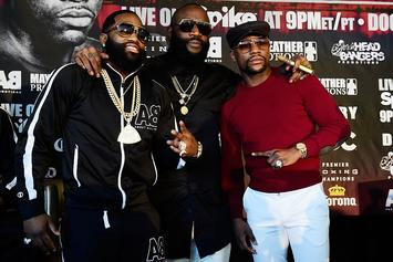 Floyd Mayweather Is Reportedly Taking Care Of Adrien Broner At His Las Vegas Mansion