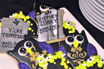 Even The Cookies At LeBron James' Halloween Party Were Trolling The Warriors