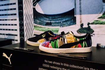 First Look: Coogi x PUMA Clyde Collection