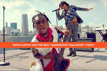"Which Artist Had The Best ""Mannequin Challenge"" Video?"