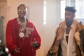 "21 Savage & Future's ""X"" Is Now Platinum"