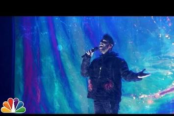 "The Weeknd Performs ""Starboy"" & ""I Feel It Coming"" On Fallon"