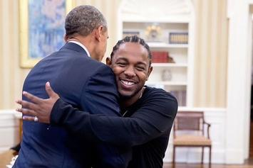 Kendrick Lamar Challenges President Obama To Game Of Basketball