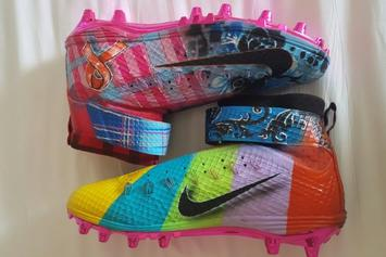 Ricky Jean Francois Honoring Craig Sager Tonight With These Custom Nike Cleats