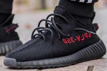 """Black/Red"" Adidas Yeezy Boost 350 V2 Releasing In 2017"