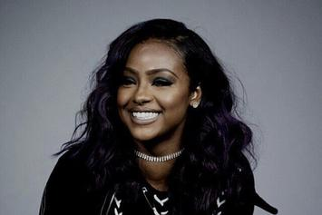 "Stream Justine Skye's New EP ""8 Ounces"""