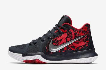 "The ""Samurai"" Nike Kyrie 3 Will Be Releasing More Than Once This Month"