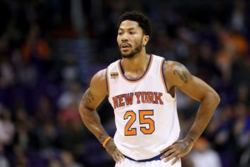 Derrick Rose Was Missing From New York Knicks Game Monday Night And Nobody Knows Why