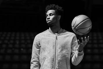 "Andrew Wiggins Models Adidas x Reigning Champ ""Made In Canada"" Collection"