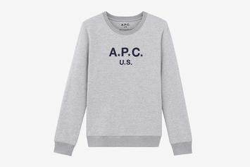 "A.P.C. Drops ""U.S."" Capsule Collection, Made Exclusively In The United States"