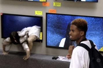 "Real-Life Samara Crawls Out Of TVs & Terrifies Shoppers In ""Rings"" Prank"