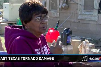 75 Year Old Woman And Her Son Fly Through Tornado In A Bathtub, Land Unharmed