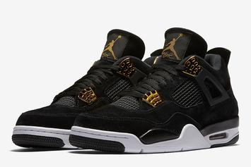 """""""Royalty"""" Air Jordan 4s Will Release In Sizes For The Whole Family"""