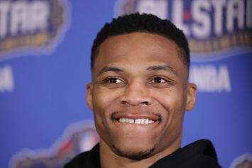 Russell Westbrook Ducks Questions About Kevin Durant By Talking About Fashion Week