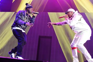 """Chris Brown Announces """"The Party Tour"""" With 50 Cent, Fabolous, French Montana & More"""