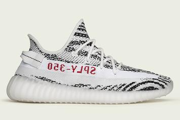 "Adidas Yeezy Boost 350 V2 ""Zebra"" Registrations Now Open"