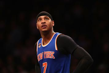 "Carmelo Anthony ""Doesn't Understand"" Knicks' Vision For The Future"