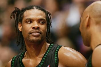 Latrell Sprewell Tells Kevin Garnett About The Origin Of His DaDa Supreme Spinners