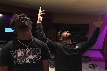 Juicy J & Desiigner Hit The Studio