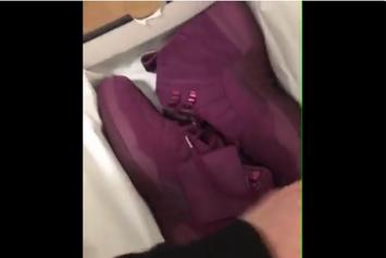 Purple PSNY x Air Jordan 12s Are Reportedly In The Works