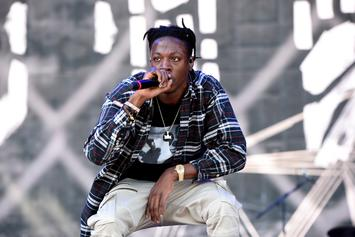 "Joey Bada$$ Drops ""Tunnel Vision"" Freestyle On Angie Martinez Show"