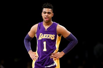 D'Angelo Russell Hits Dramatic Game-Winner Hours After Grandmother's Passing