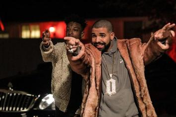"""Drake Joins 21 Savage On """"Issa"""" Tour Stop In Los Angeles"""