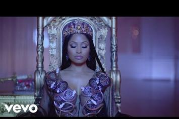 "Nicki Minaj Feat. Drake, Lil Wayne ""No Frauds"" Video"