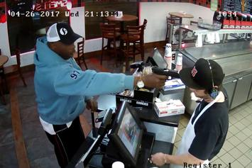 Jimmy John's Employee DGAF About Getting Robbed At Gunpoint