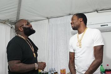 Rick Ross Says He Helped Squash Drake & Meek Mill Beef