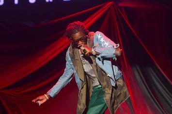 "Young Thug Pairs ""Lifestyle"" With A Magical Fireworks Display At Rolling Loud"