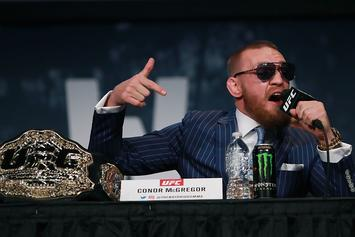 Dana White Says Conor McGregor Plans To Fight Twice This Year