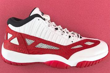 """""""Fire Red"""" Air Jordan 11 Low IE Set To Release This Summer"""