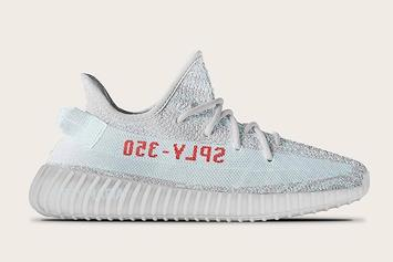 "The ""Blue Tint"" Adidas Yeezy Boost 350 V2 Will Look Something Like This"