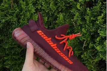 "Sneaker Customizer Mache Unveils ""Calabasas"" Yeezy Boost 350 V2"