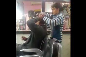 Would You Throw Hands If This Was Your Barber?