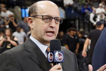 Rihanna Mesmerizes Jeff Van Gundy During Game 1, Twitter Reacts