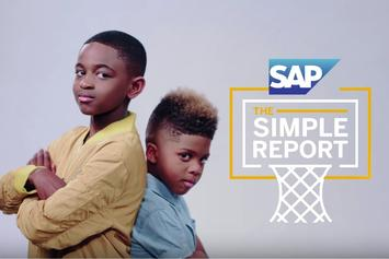 "Chris Paul's And Dwyane Wade's Sons Host NBA Finals ""Simple Report"""