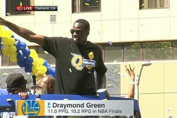 "LeBron James Comments On Draymond Green's ""Quickie"" T-Shirt"