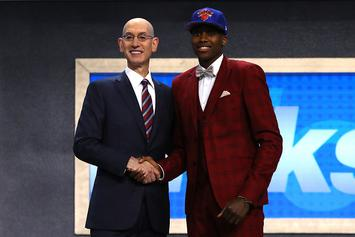 Stephen A. Smith Rants About Knicks' Drafting Frank Ntilikina