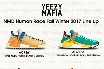 """Pharrell x Adidas NMD """"Human Race"""" Trail Release Details Revealed"""